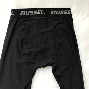 Russell Athletic Boys Compression Tights bargain Black